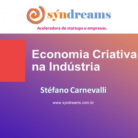 Palestra Economia Criativa na Indústria